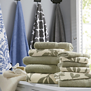 set of 2 waverly oversized bath towel