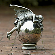 Sleepy Fairy Gazing Ball