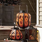 Pumpkin Face Lanterns
