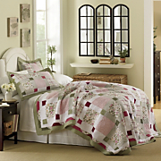 Darcy Oversized Cotton Quilt And Sham