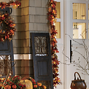 Lit Fall Garland