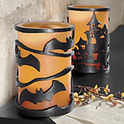 Flameless Led Halloween Candle