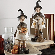 Set Of 2 Witch Figurines