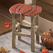 Decorative Pumpkin Stool