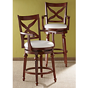 X back Swivel Stools
