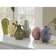 Set Of 6 Mini Vases