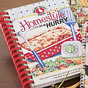 Gooseberry Patch Cookbook Homestyle In A Hurry