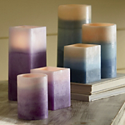 Set Of 3 Scented Flameless Candles