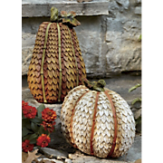 Set Of 2 Pumpkins