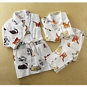 Cat Pj Set and Robe By Aegean