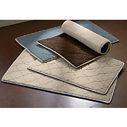 set of 2 reversible bath rugs