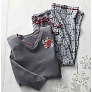 Damask Pajama Set