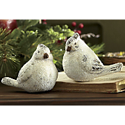 Set Of 2 Winter Birds