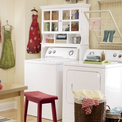 Space Saving Laundry Cabinet