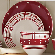 Set Of 4 Fun Tastic Dinner Plates