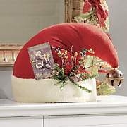 Santas Hat Centerpiece