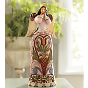 hearts and flowers angel figurine by jim shore