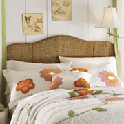 Seagrass Headboard and Bedrails