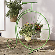 bicycle plant stand 2