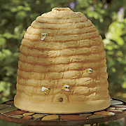 decorative bee skep