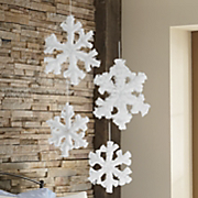 Set Of 3 Snowflakes