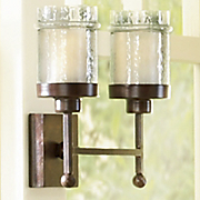 Hampton Double Candle Sconce