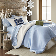 Reversible Sherpa Mini Comforter Set