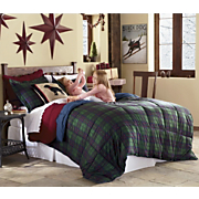 Plaid Mini Comforter Set