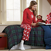 Womens Snowman Pajamas
