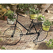 bicycle plant stand 1