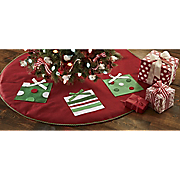 Felt Appliqued Tree Skirt