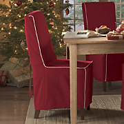 Holiday Red Chair Slipcover