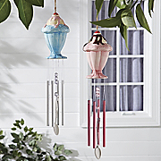ice cream wind chime