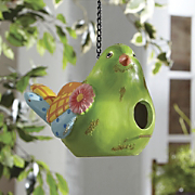 patchwork birdhouse