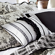 nanci ruffled pillow