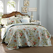 dorset oversized reversible quilt sham and pillows