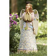 garden angel figurine by jim shore