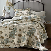 dogwood oversized reversible quilt sham decorative pillow