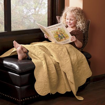 Gwendolyn Leaf Cotton Throw