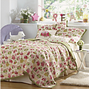 it s a hoot oversized reversible quilt sham and pillows