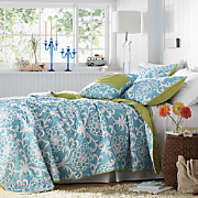 petra oversized quilt sham and pillow