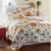 sunshine oversized quilt and sham