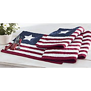 set of 4 americana place mats
