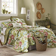 tobago quilt sham and pillow