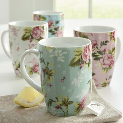 Mugs Chintz Set Of 4
