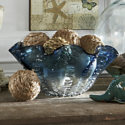 set of 4 sea grass orbs