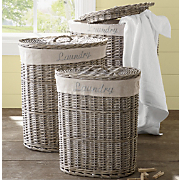 set of 3 laundry baskets