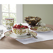 waverly 16 piece fawn hill dinnerware set