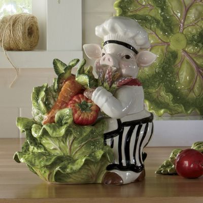 chef piggy cookie jar