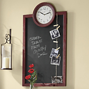 blackboard clock